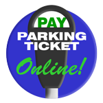 Pay Parking Ticket Online Icon