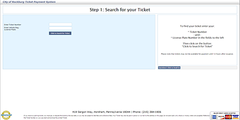 eCommerce Ticket Payment Image